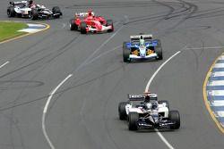 Patrick Friesacher lidera a Felipe Massa
