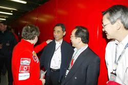 Jean Todt con los invitados