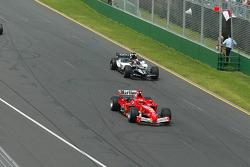 Michael Schumacher y Christijan Albers