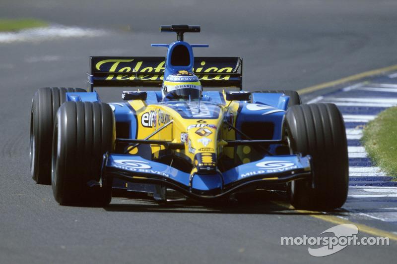 2005: Джанкарло Физикелла, Renault R25