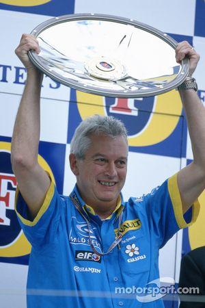 Podio: El director técnico de Renault, Pat Symonds