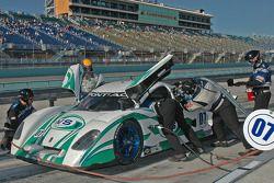 Pitstop for #07 Spirit of Daytona Racing Pontiac Crawford: Bob Ward, Roberto Moreno