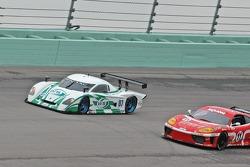 #07 Spirit of Daytona Racing Pontiac Crawford: Bob Ward, Roberto Moreno, #11 JMB Racing USA Ferrari 360 Challenge: \Constantino Bertuzzi, Matt Plumb