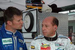 Bob Ward and Roberto Moreno