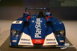 The Audi R8 of the Audi PlayStation Team ORECA