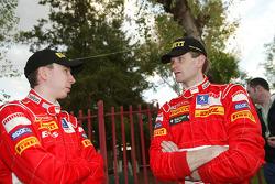 Markko Martin y Marcus Gronholm