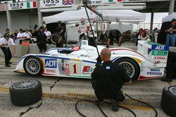 Pitstop practice for Marco Werner and ADT Champion Racing