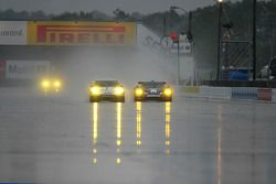 Alex Job Racing Porsche 911 GT3 RSR : Randy Pobst, Ian Baas, Brian Cunningham; Maserati Corse Maser