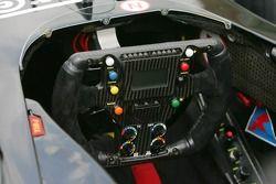 Minardi steering wheel