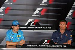 FIA Thursday press conference: Giancarlo Fisichella and David Coulthard