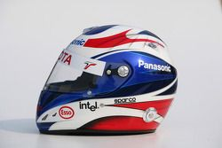 Photoshoot: helmet of Olivier Panis