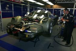 Maserati Corse paddock area