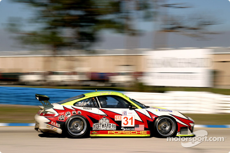 Petersen Motorsports/White Lightning Racing Porsche 911 GT3 RSR : Lucas Luhr, Patrick Long, Jorg Ber