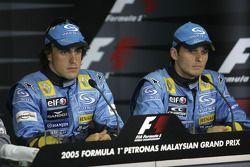 Conferencia de prensa FIA: Fernando Alonso y Giancarlo Fisichella