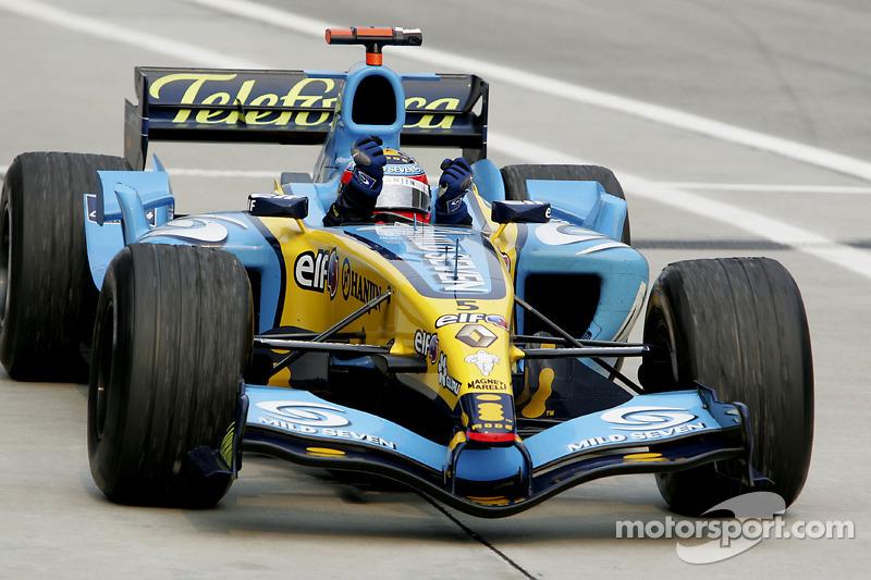 9º Fernando Alonso - 18 corridas - De Turquia 2005 até Alemanha 2006 - Renault