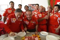 Rubens Barrichello fête son 200e Grand Prix