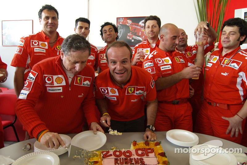 Rubens Barrichello - 323 Grands Prix