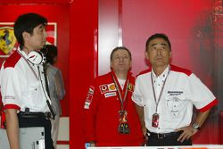 Jean Todt y Hiroshi Yasukawa