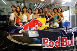 The charming Red Bull Formula One girls