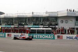 Second place finish for Jarno Trulli