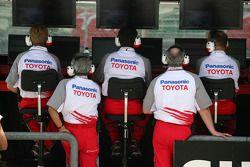 Toyota pitwall
