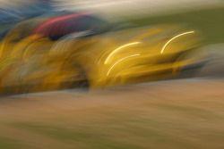 Artistic impression of #3 Corvette Racing Corvette C6-R: Ron Fellows, Johnny O'Connell, Max Papis