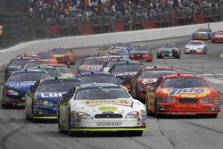 Restart: Greg Biffle leads the field