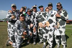 The traditional Bovine Pitcrew