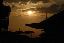 Sun sets on Sepang