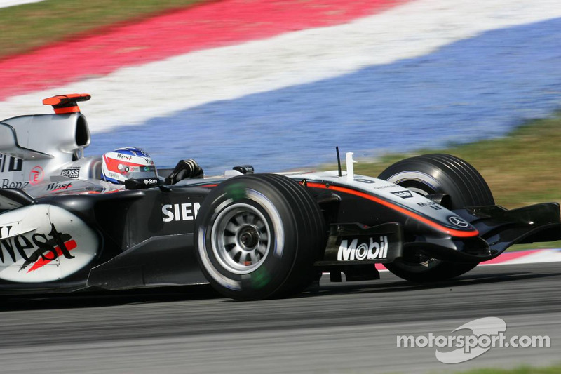 Kimi Raikkonen (pictured) and Hamilton have two fastest laps each at Sepang