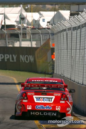 Mark Skaife on his way to a podium finish
