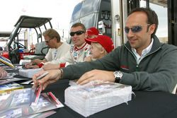 JJ Lehto, Tom Kristensen and Marco Werner