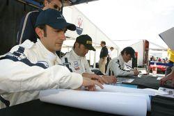 Andrea Bertolini, Fabio Babini and Fabrizio De Simone