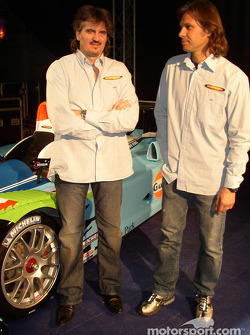 Claude-Yves Gosselin and Paul Belmondo with the Paul Belmondo Racing Courage C65 Ford