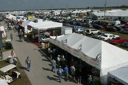 Vendors area