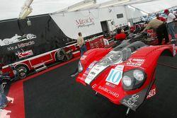 Miracle Motorsports paddock area