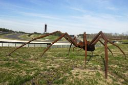 Giant spider at Barber Motorsports Park