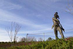 Statue at Barber Motorsports Park