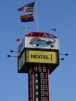 La tour de socring du Phoenix International Raceway