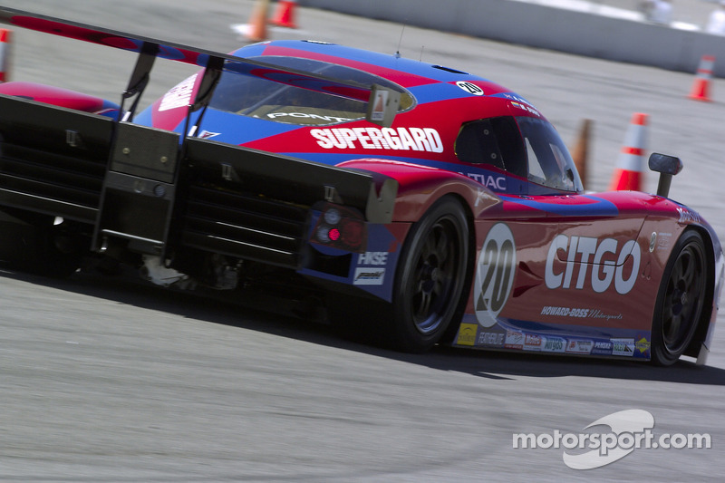 CITGO - Howard - Boss Motorsports Pontiac Crawford : Milka Duno, Paul Edwards, Chris Dyson