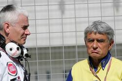 Geoff Willis and Pierre Dupasquier