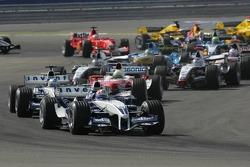 Primera curva Mark Webber