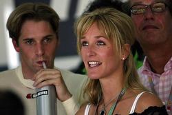 Christijan Albers con su novia Liselore
