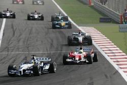Nick Heidfeld y Ralf Schumacher