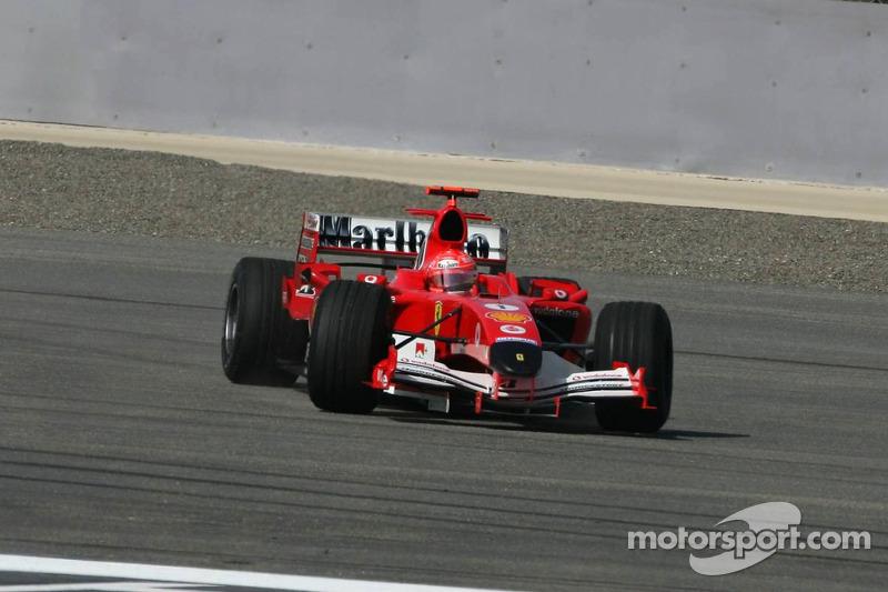 2005: запрет FIA на смену шин по ходу гонки