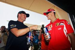 David Coulthard et Michael Schumacher