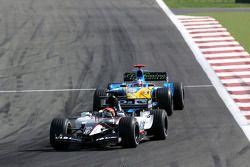 Christijan Albers y Fernando Alonso