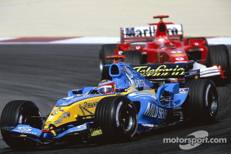 2005 Fernando Alonso, Renault