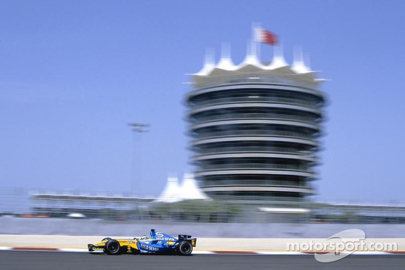 41,9°С– при такой температуре прошелГран При Бахрейна в 2005 году. Этосамая жаркая гонка в историиФ1