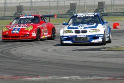 #16 Prototype Technology Group BMW M3: Justin Marks, Tom Milner, #73 Tafel Racing Porsche GT3 Cup: Jim Tafel Jr., Andrew Davis